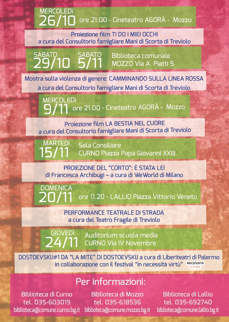 la-linea-rossa-2016-programma
